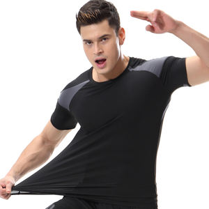 Oem Odm Custom Gym Wear Fitness Sport Mens T Shirt