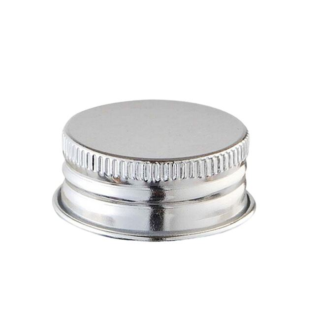 Custom Wholesale Food Grade Aluminum Cosmetics Lid, Metal Aluminum Perfume Bottle Screw Cover Cap