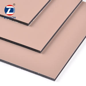 Exterior Interior Wall Panel PE Decorative Aluminum Sheet Sandwich Cladding Panels