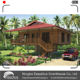 Deepblue Smarthouse Economic Low Cost prefab wooden design Water Prefabricated Wood Bungalow