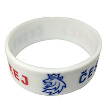 custom 1 inch silicone wristbands no minimum,25mm wide debossed filled bracelets silicone