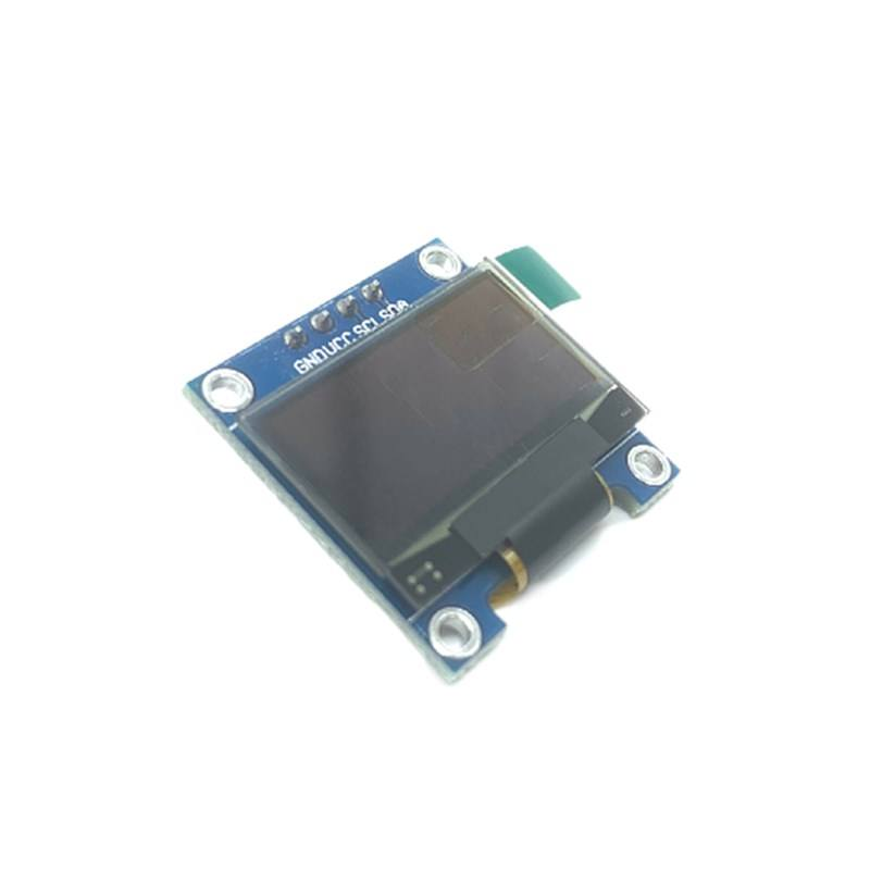 "0.96 inch OLED Display Module PCB Board IIC I2C 3.3v Small Screen oled Display White 5v With 4 PIN 0.96"" 128X64 OLED"