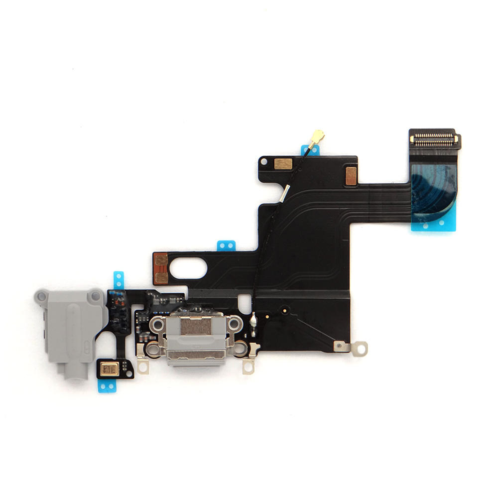 Charging port flex cable for iphone 5 6 7 8 X replacement charging flex cable USB dock