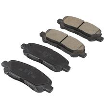 D1325 car accessories auto brake systems ceramic brake pad for TOYOTA highlander