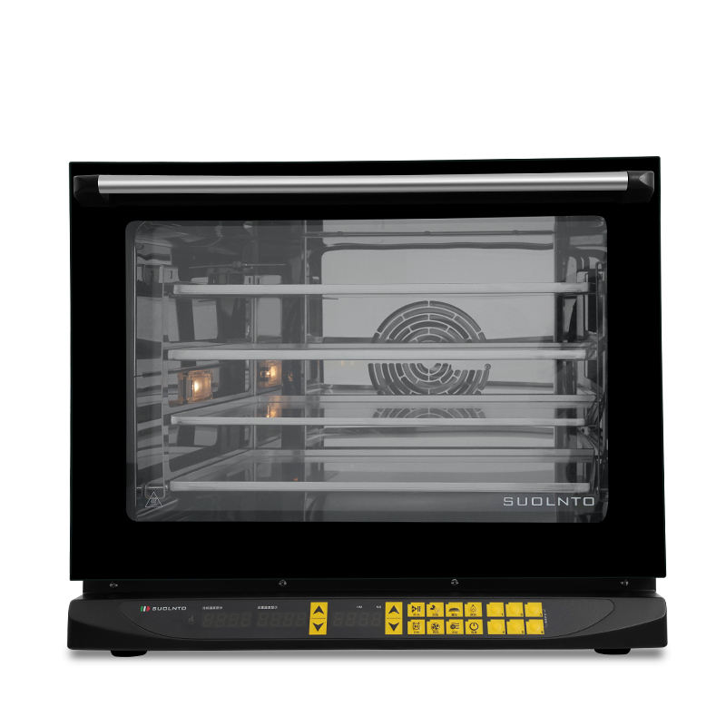 New condition electric 4 trays steel convection oven/baking oven/commercial equipment