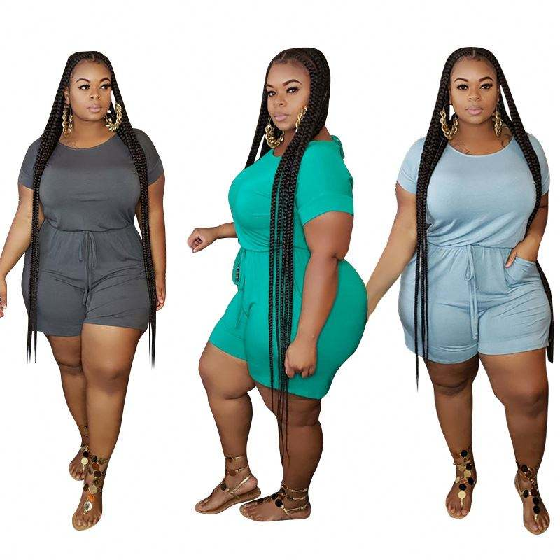 Plus size women jumpsuits and rompers adult onesie plus size jumpsuits 5XL women's sexy big size clothes