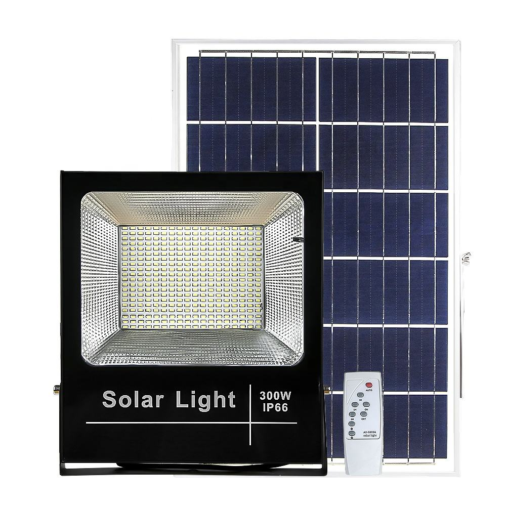 300w Solar Powered Outdoor Led Flood Light 400w