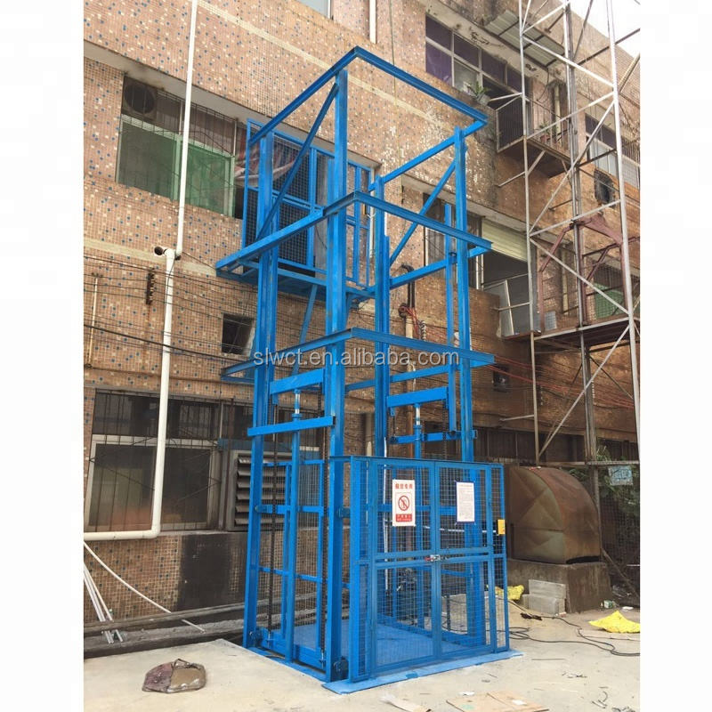 300kg vertical platform hot sale goods lift elevator home lift