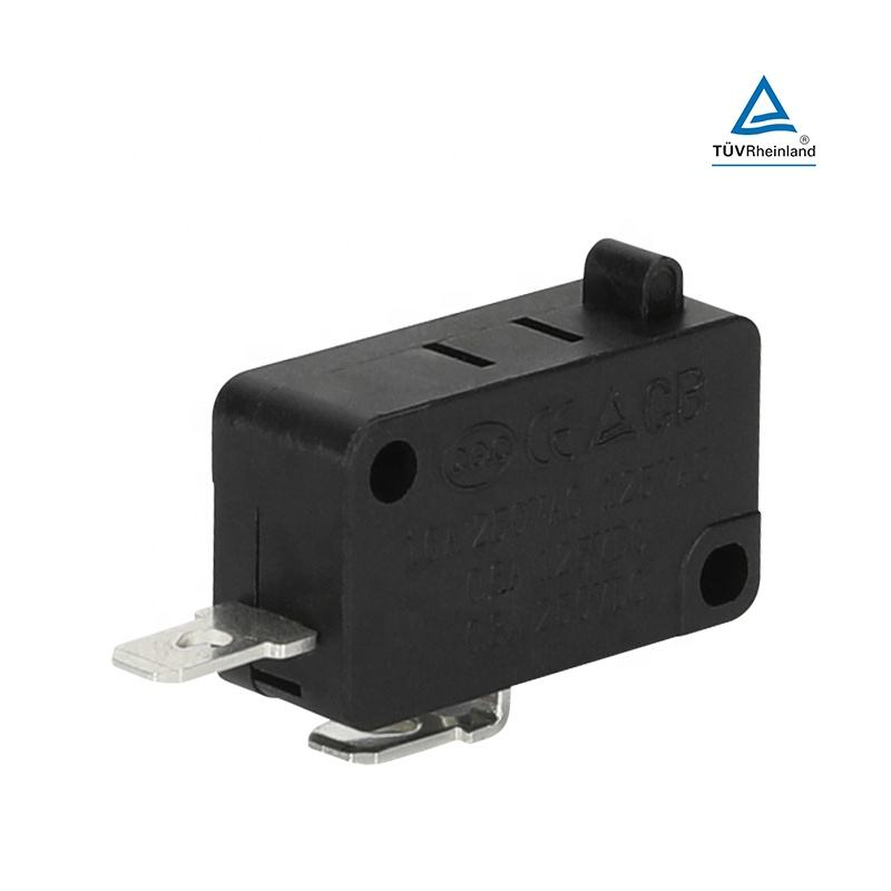 push button micro switch 2 pin high quality micro switches normally open micro switch KW3-6C-A