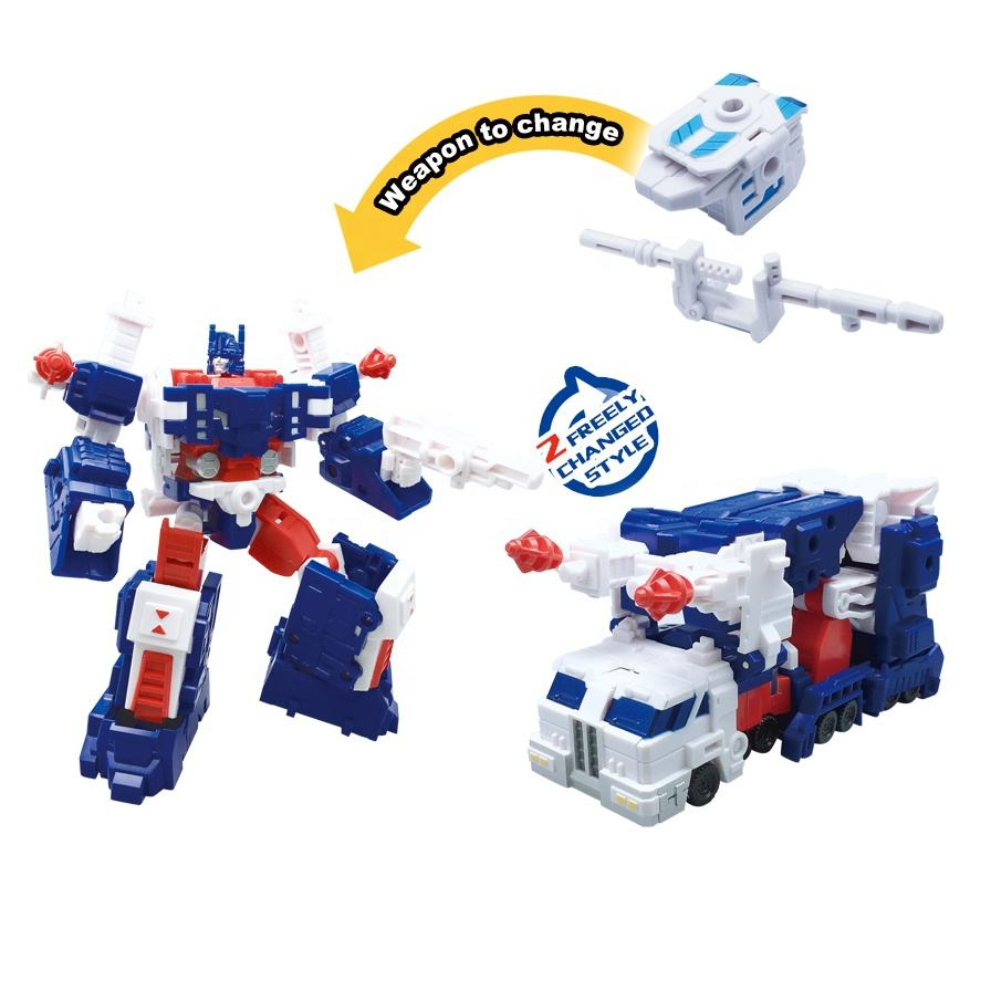 2 styles armored car transform car robot toy for boys