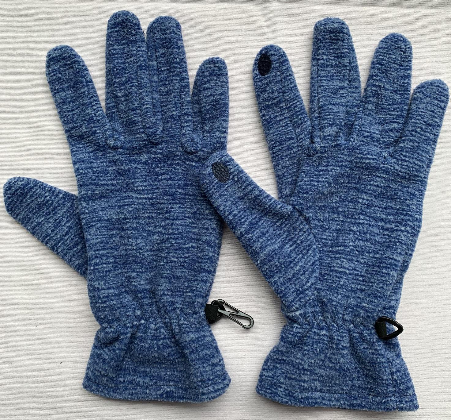 touch screen recyclable fleece gloves
