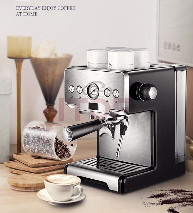 Home use coffee maker machine auto coffee machine espresso machine cappuccino maker with Italian Pump
