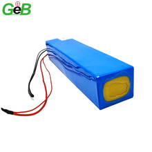 Rechargeable charge 16.8v 18v 24v 30v 36v 48v 60v 10Ah 20Ah 10000mah electric bike scooter customized 18650 lipo battery packs