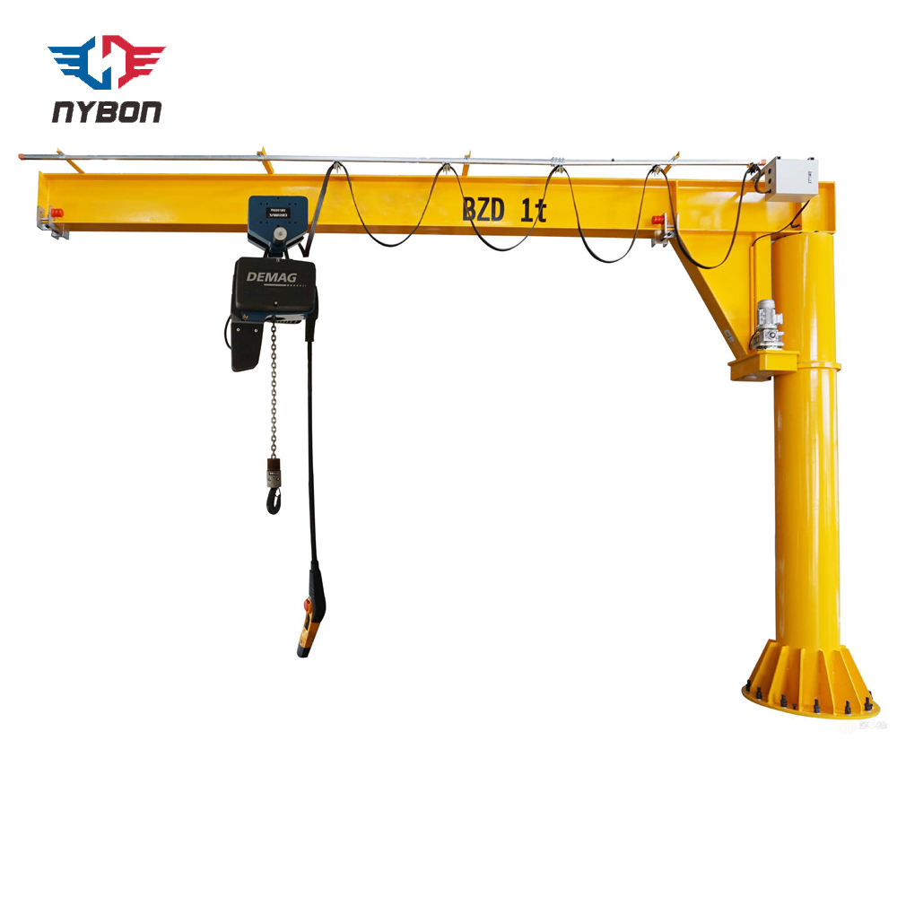 Pillar column mounted jib crane 5 ton