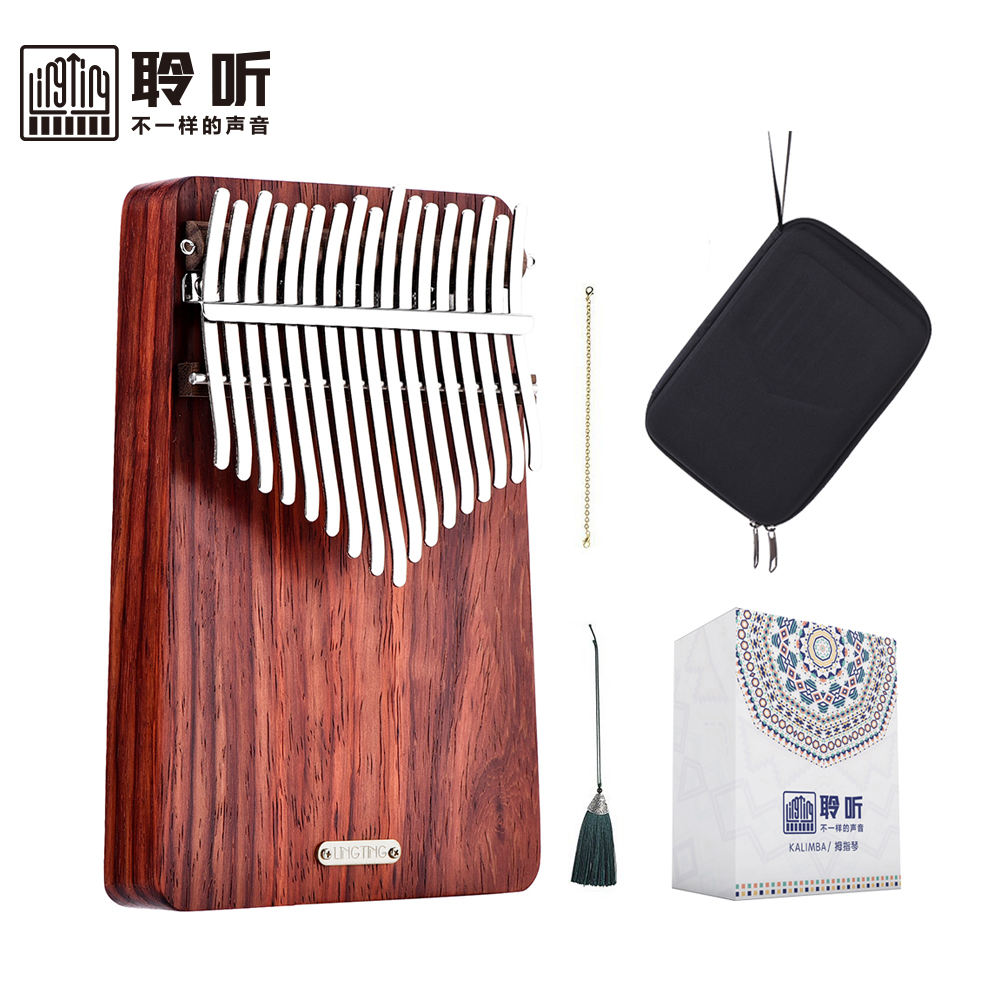 Kalimba LT-K17A 17 keys thumb piano kalimba musical instrument with rich accessories