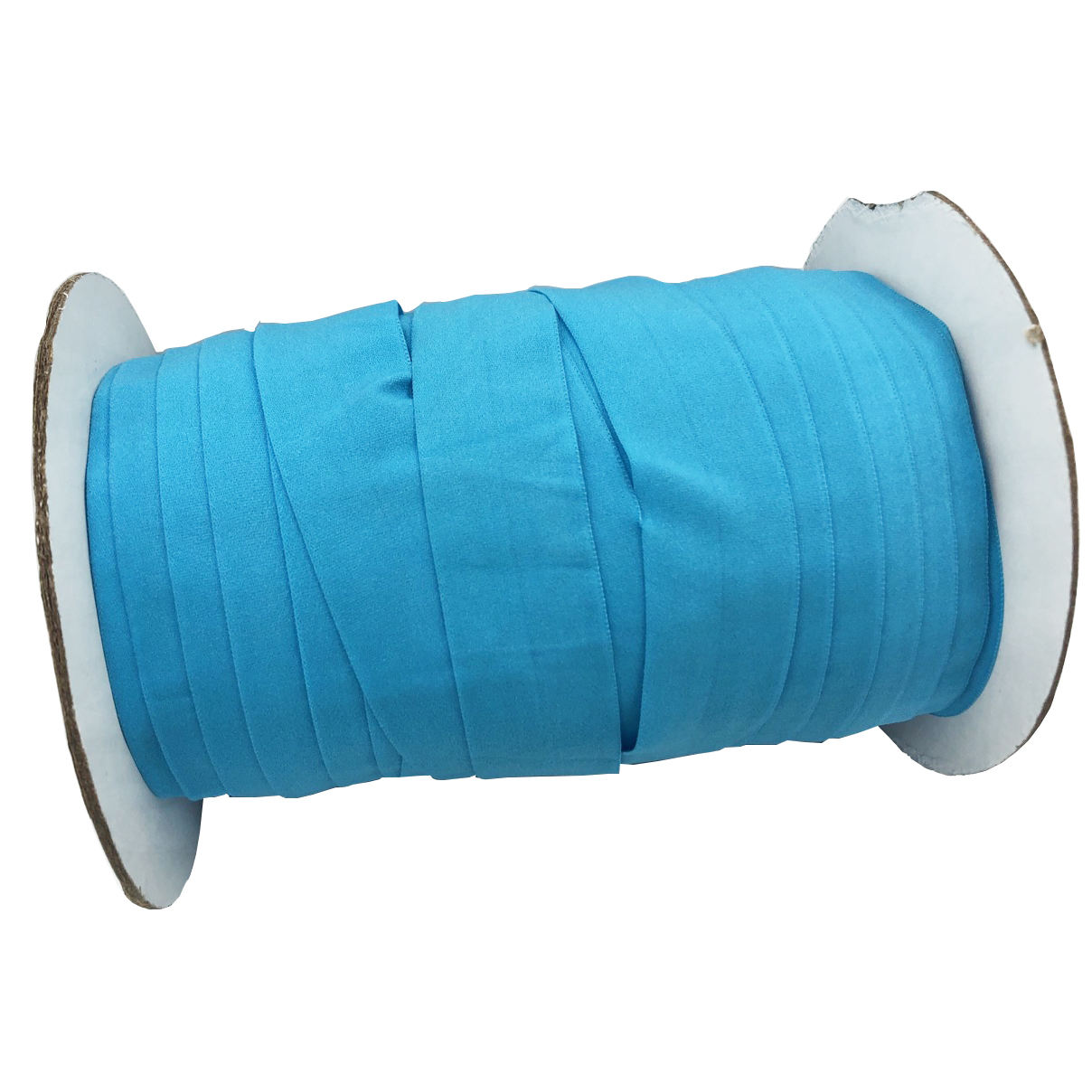 Wholesale factory price 1 Inch fold over elastic ribbon nylon spandex stretch elastic ribbon