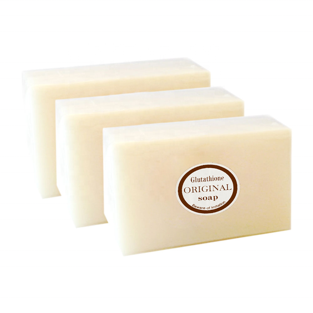 Best sale Handmade Pure & All-Natural ,Lightening Deep Cleansing ,Whitening Glutathione soap for men&women
