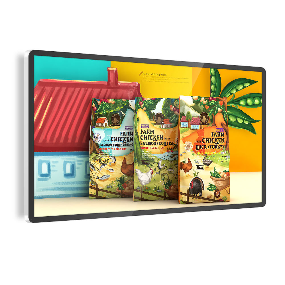 Refee Android Advertising Player Interactive Touch Screen Monitor Lcd Signage Display Board Wall Digital Signage And Displays