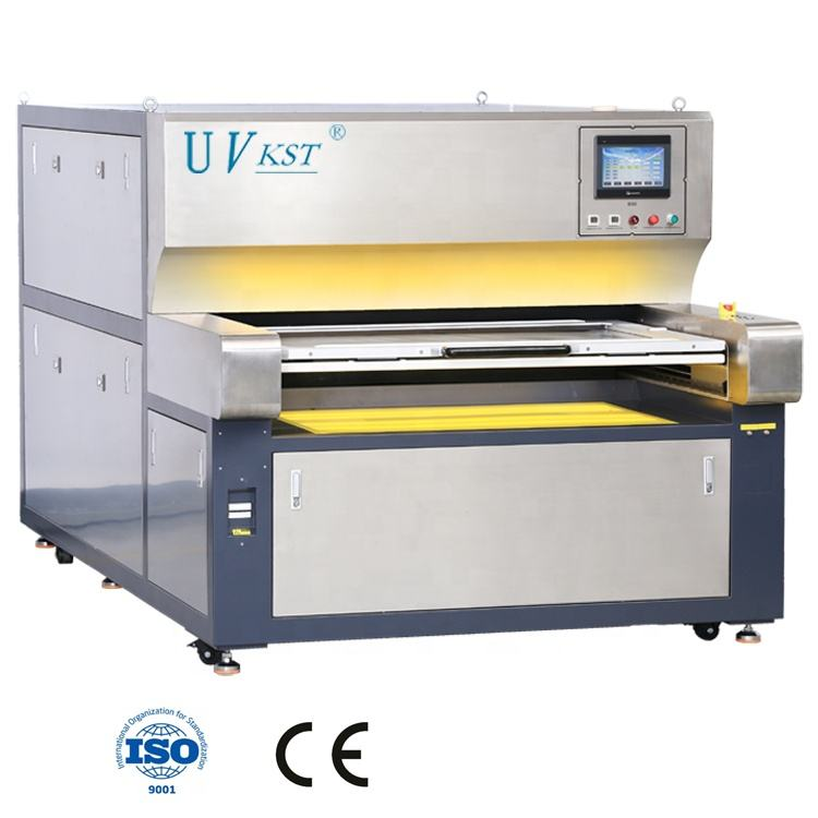 High precision 2mil 50um resolution 1250*700 UV LED PCB Exposure machine double sides