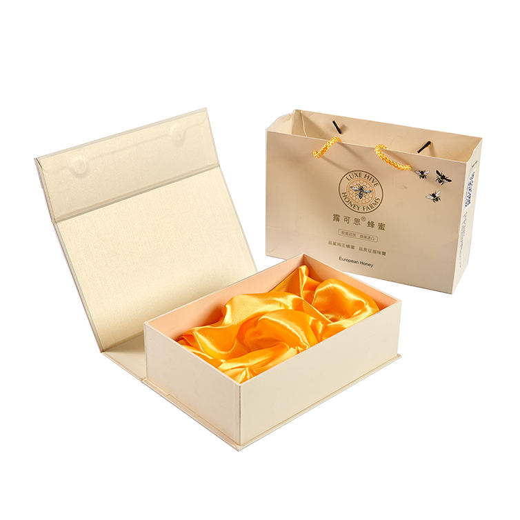 Youse Custom Packing Outer Luxury Magnetic Gift Box Paper Cardboard Box Packaging for Honey