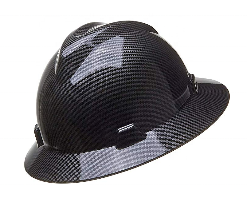 new products carbon fiber helmet full brim construction safety helmet