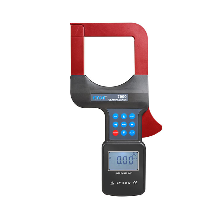ETCR7000B Large Caliber Diameter Leaky Clamp Meter with The Latest CT Digital Integration Technology 0.00ma-2000a/80mm*80mm