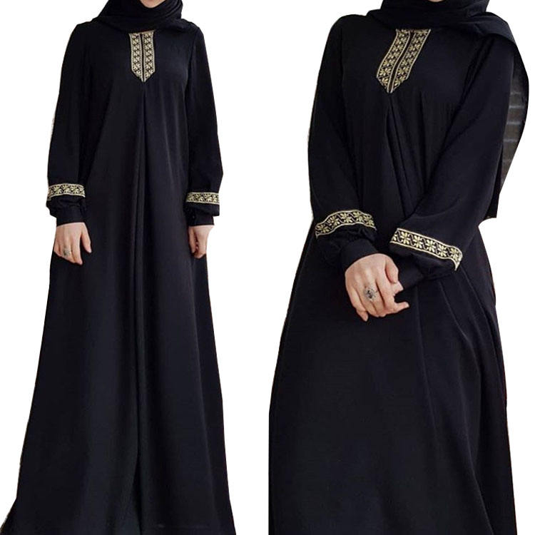 MXCHAN saudi arabian Lace kaftan muslim dress abaya