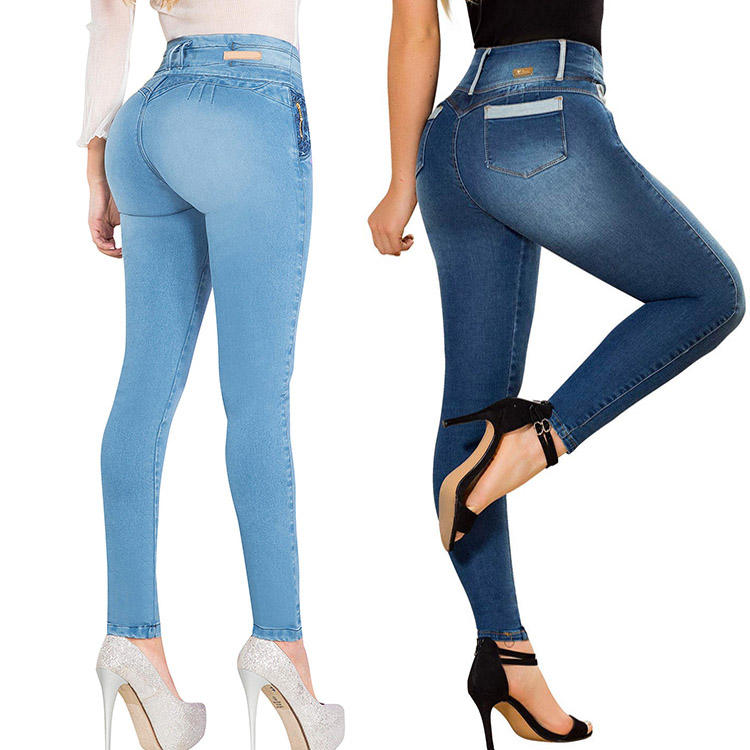 wholesale ladies latest fashion jeans colombiano