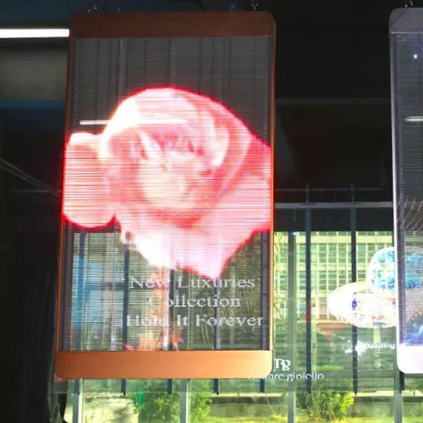 Sign Advertising Led Electronic Banner for store Poster Transparent Led display