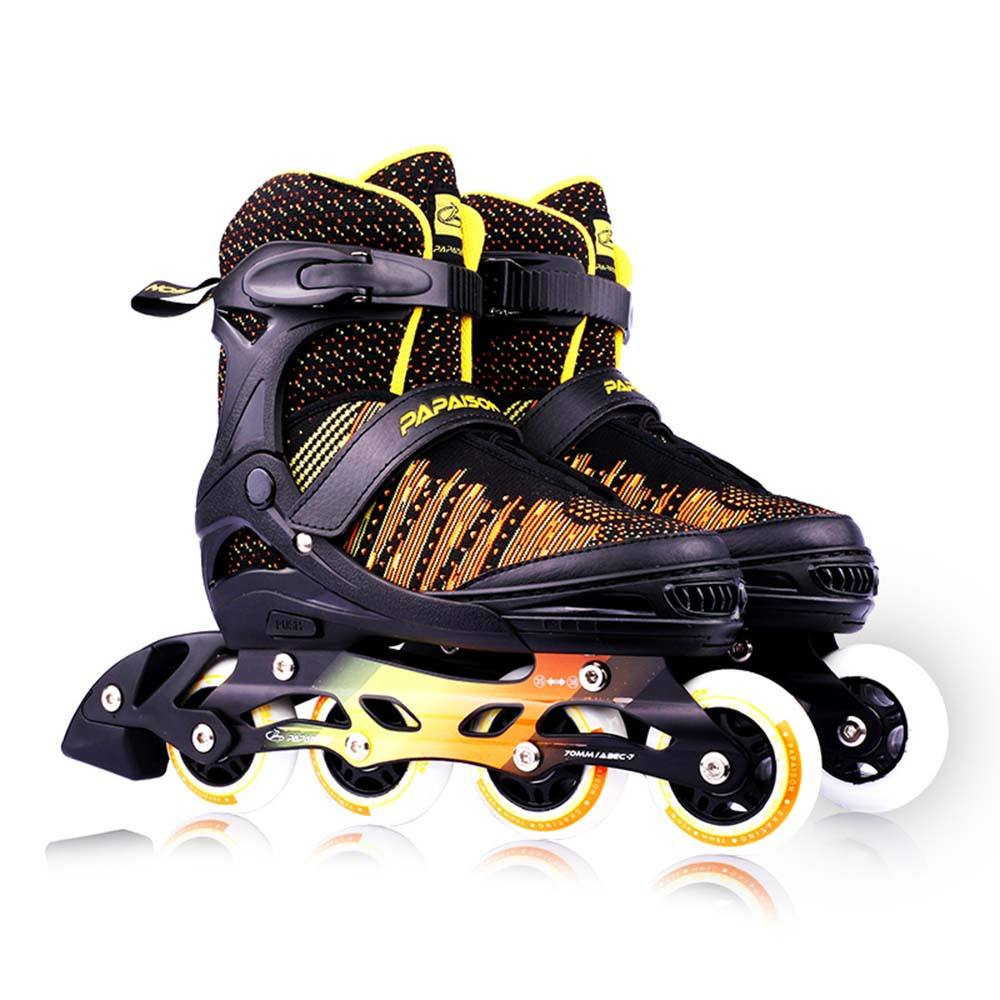 Cheap price slalom inline skates 3D Fly knitting fabric roller blades for kids and adults