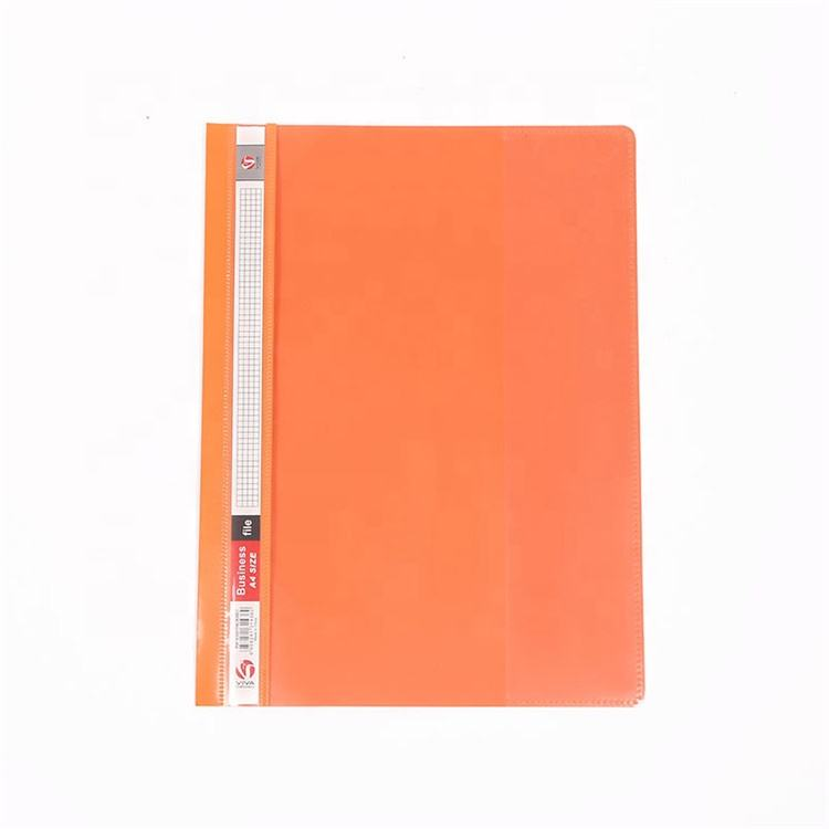 Factory hot sale colorful A4 PP business meeting file folder