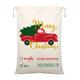 Christmas Bag 2020 New Design 100% Cotton Christmas Bag Gold Printing Santa Sack