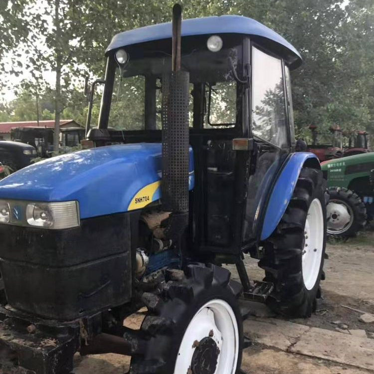 70 HP & 4WD with cab Used Tractors