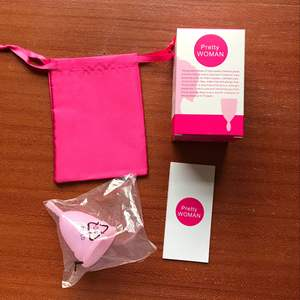 Silicone Menstrual Cup with Sterilizer Cup Set