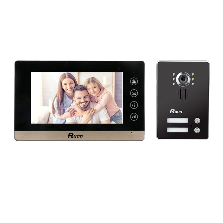 Waterproof Wifi IP Intercom Camera Video Door Phone With Mobile Phone App