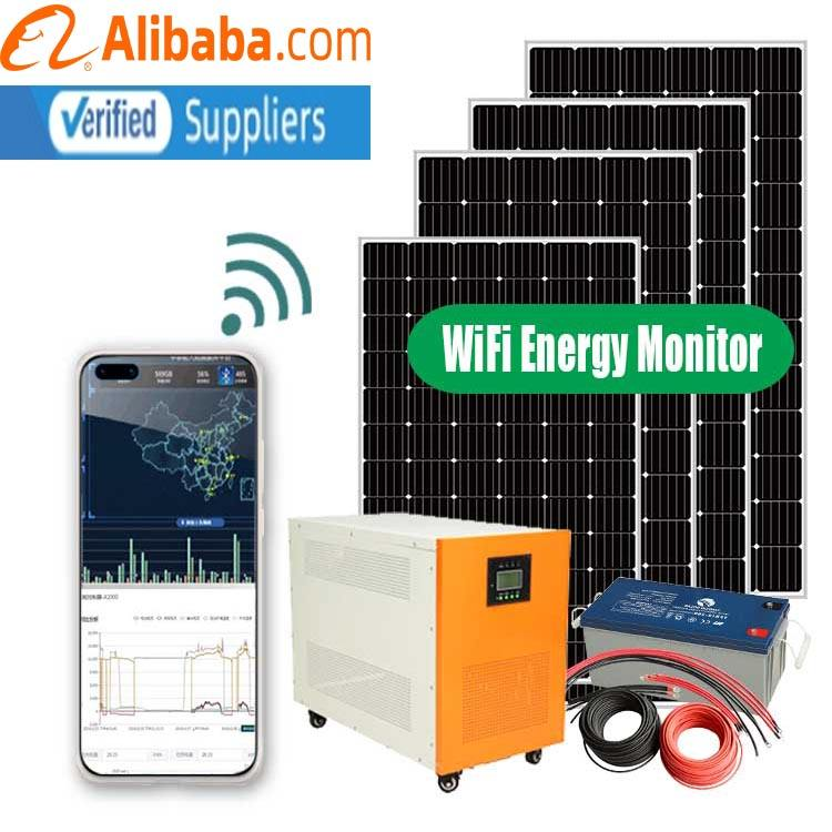 Solar Project Energy Saving 15kw 20kw off Grid Solar System