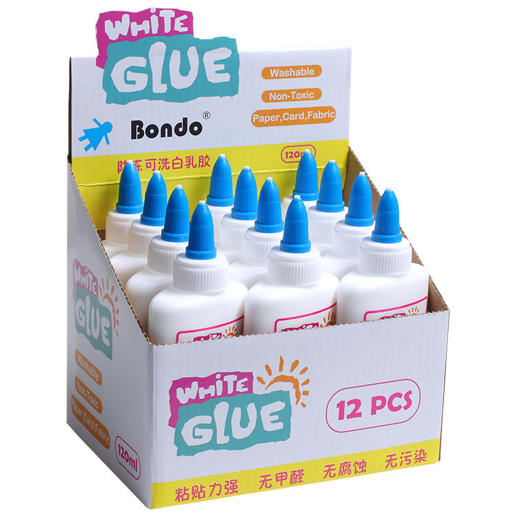 Liquid Glue White Washable Office School Home Liquid Glue Slime Glue