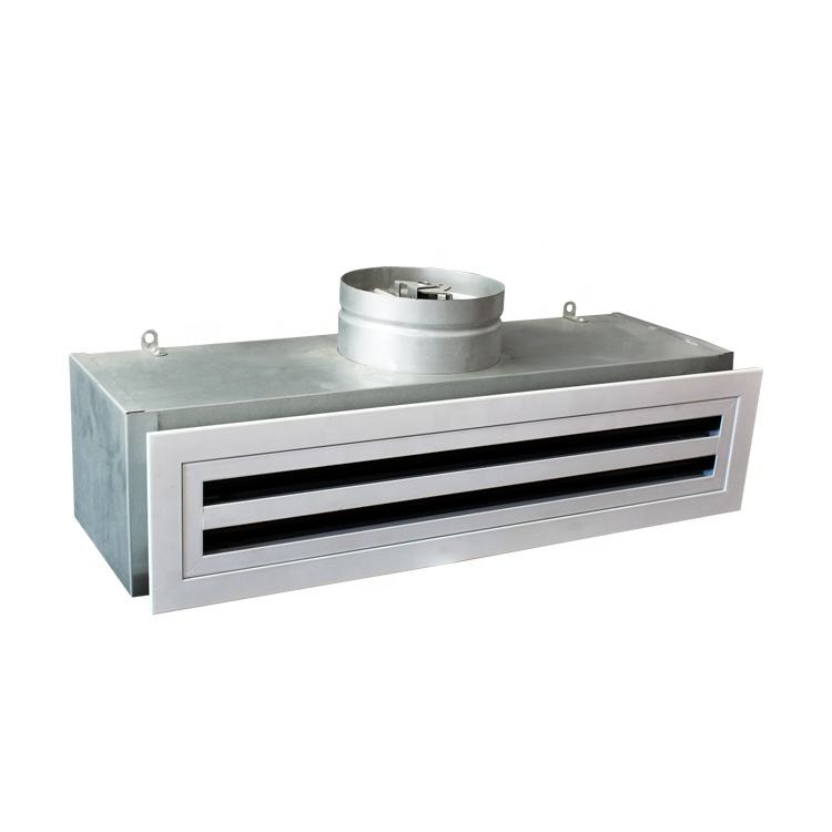 HVAC Aluminum Supply Linear Air Diffuser with Plenum Box