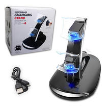 High Quality Quick Charge Station Fast Wired Charger Dock for Playstation 4 controller for dualshock 4 joystick