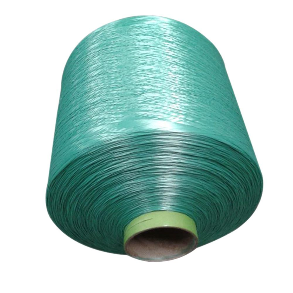 China supplier high quality recycle yarn dope dyed fdy pp webbing yarn bright FDY multifilament yarn