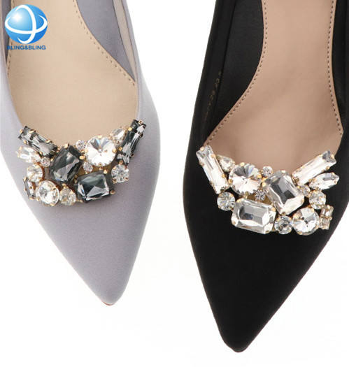 Pas cher Strass Clip de chaussure À Talons Hauts <span class=keywords><strong>Chaussures</strong></span> Décoration Dames <span class=keywords><strong>Chaussures</strong></span> <span class=keywords><strong>accessoires</strong></span>