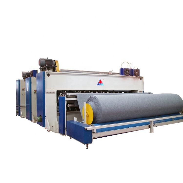 Nonwoven Fabric Making Machine Line, Needle Punching Production Line For Padding High Speed Needle Loom#