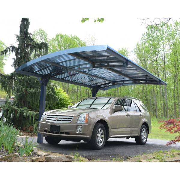 Twin-wall Polycarbonate Roof Panel Aluminium Carport Garages Canopies &amp Carports