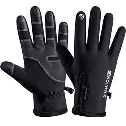 YULAN WG020  Mens Winter Warm Gloves Waterproof and All Finger Touch Screen Gloves for Cycling and Outdoor Work