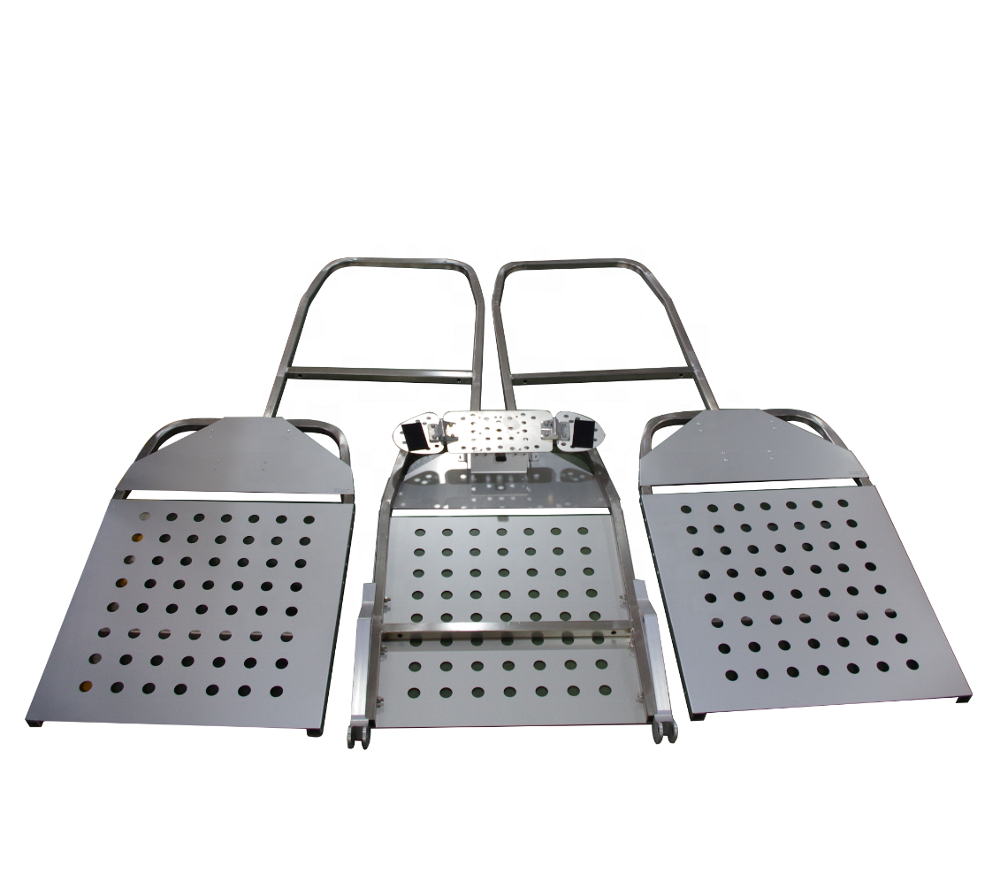 Densen customized High strength steel backrest seat frame high speed railway VIP carriage automotive and aviation aluminum seat
