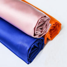 120cm Width shiny soft touch high elastic stretch silky satin fabric for dress lining