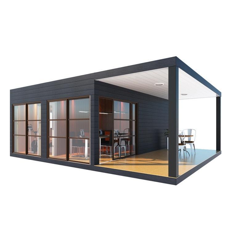 UPS ucuz modern prefabrik ev planı prefabrik evler konteyner çince ev yapımı video