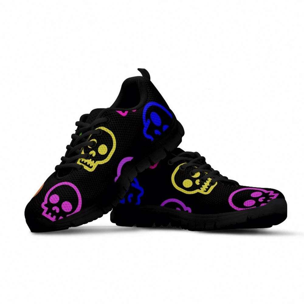 Most Selling Madness Printed Black Soles Sneakers One Pair Footwear Lightweight Active Sports Tennis Shoes
