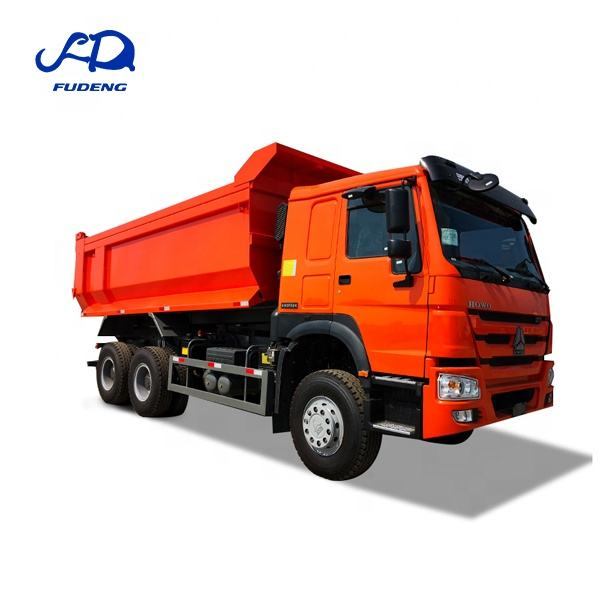 China best selling new brand howo 6x4 35tons used construction dump truck
