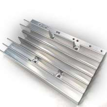 Custom Precision water cooling Aluminum Extruded led Heat Sink Plate